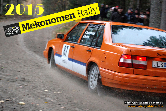 VOC Mekonomen Rally 2015