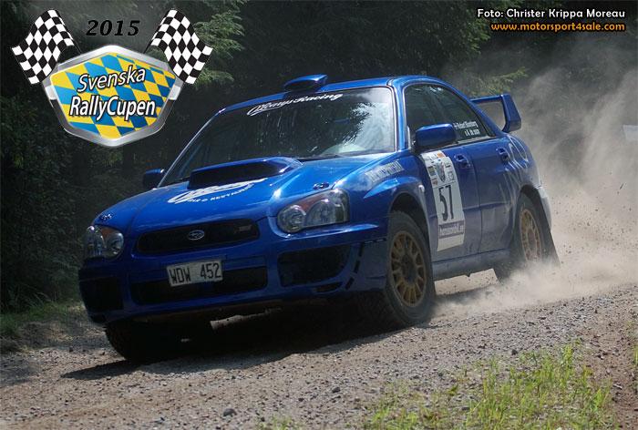 Säffle gör Svenska Rallycupen 2015 komplett