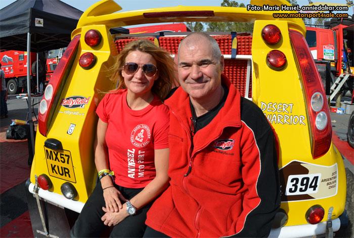 Annie Seel redo för historisk start i Dakar 2015