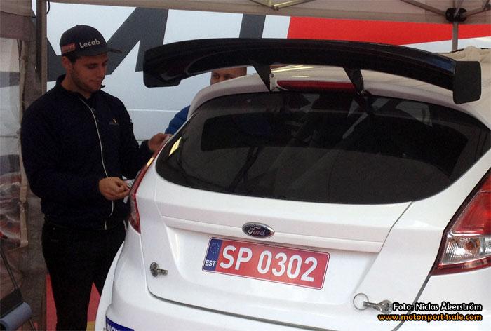 Fredrik Åhlin till Rally Sweden med ny sponsor