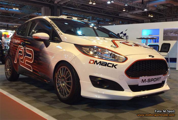 M-Sport presenterar en uppdaterad Ford Fiesta R2