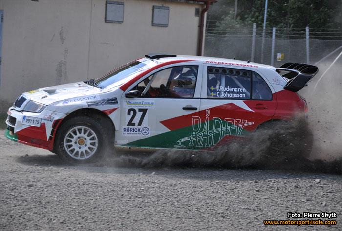 Johan Rudengren har den bästa bilen