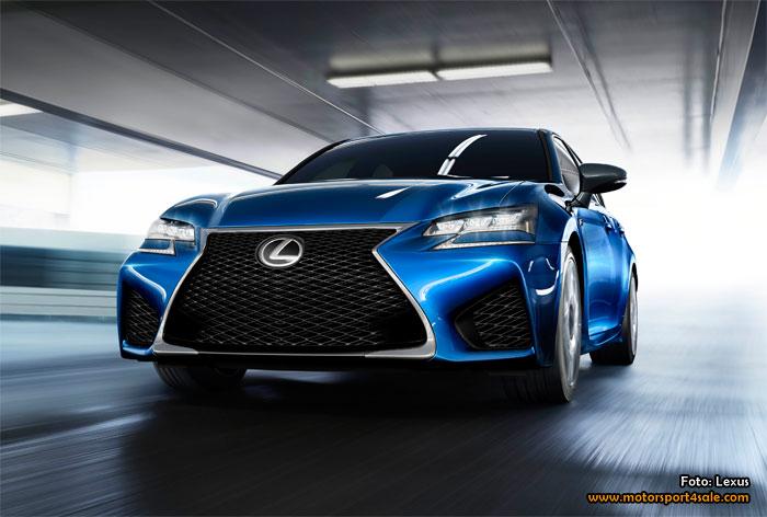 GS F är Lexus nya kraftpaket