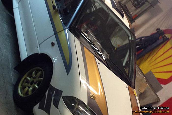 Daniel Eriksson kör fräsig Suzuki