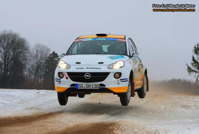 Emil Bergkvist Motor efter ERC-segern