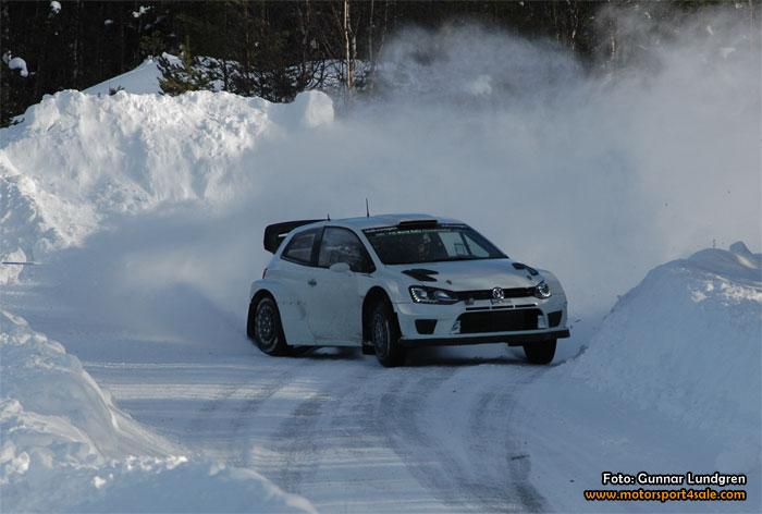 Volkswagen Motorsport testade i Lima inför Rally Sweden
