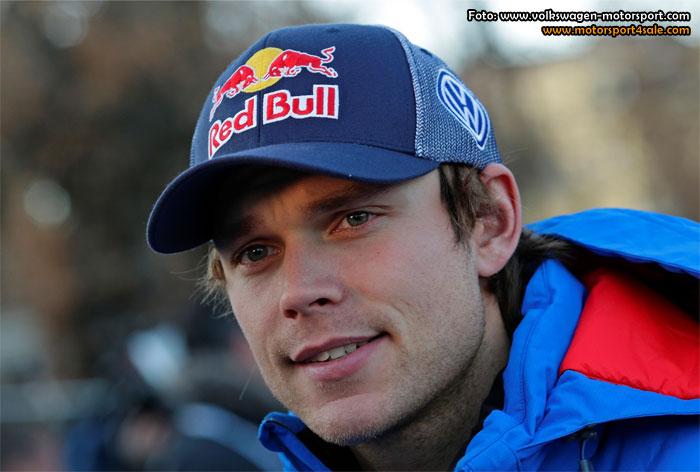 Andreas Mikkelsen inför Rally Sweden 2015