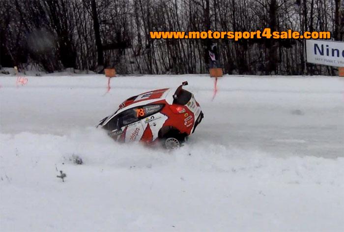 Hård landning för Per Erik Brynildsen i Rally Sweden