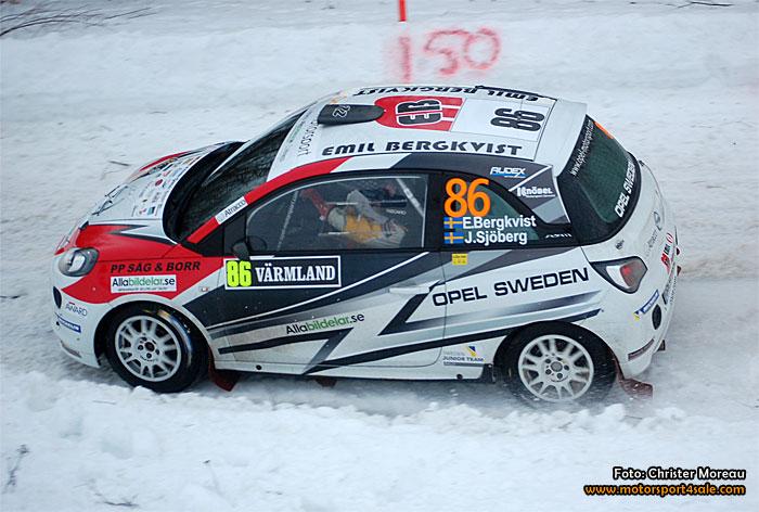 Emil Bergkvist Motor summerar Rally Sweden 2015
