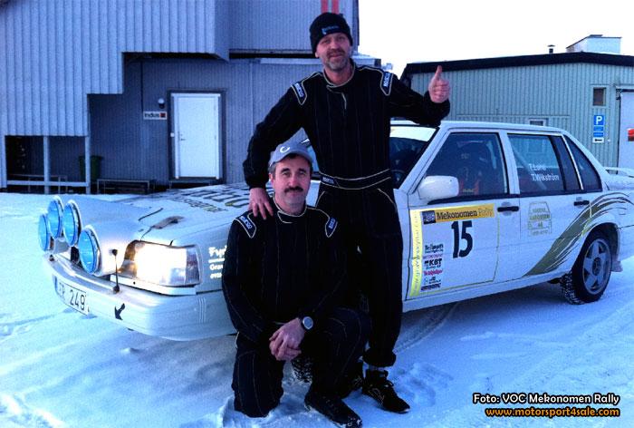 Thomas Lahti och Tomas Wikström vinnare av ElitA i Vinterserien