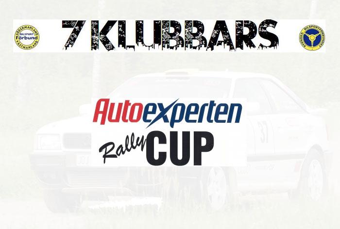 Inför AutoExperten Rallycup och 7 klubbarsserien 2015