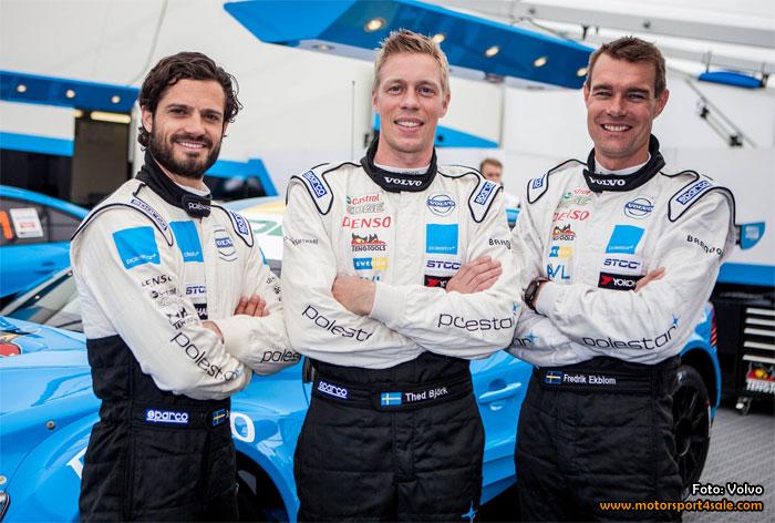 Volvo Polestar Racing trio för STCC 2015