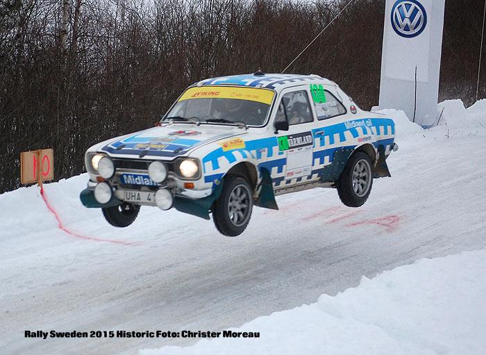 Rally Sweden 2015 Historic