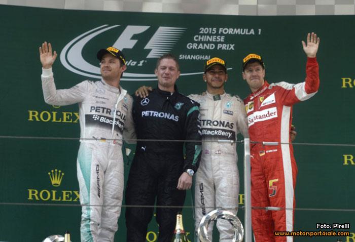 Hamilton tog fjärde segern i Kina
