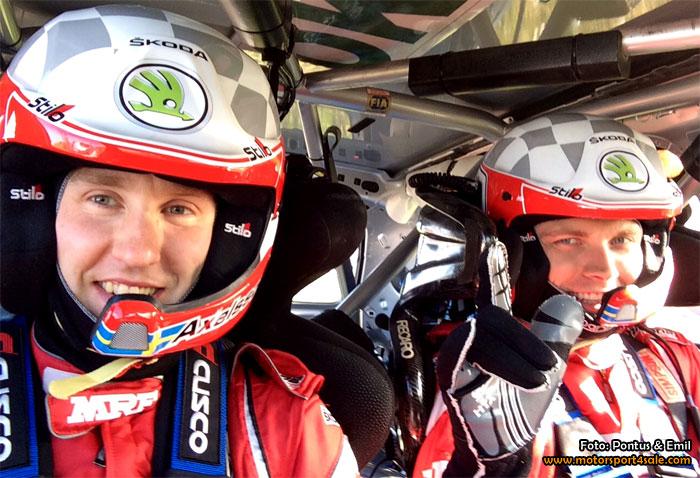 Pontus och Emil redo för ŠKODA-debut på Nya Zeeland