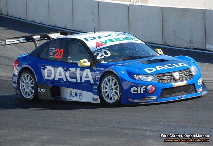 Dacia Dealer Team går för segrar i STCC
