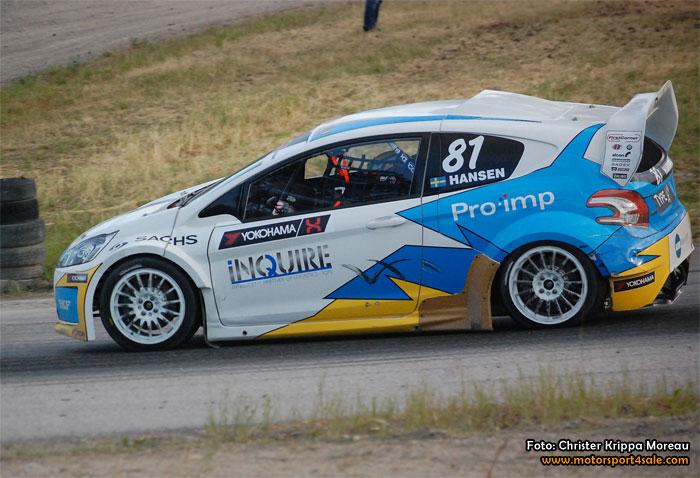 Hansen redo att försvara sin RallyX-Lites titel