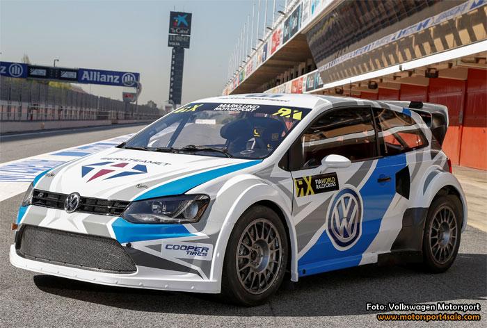 Volkswagenteamen förberedda för rallycross-VM