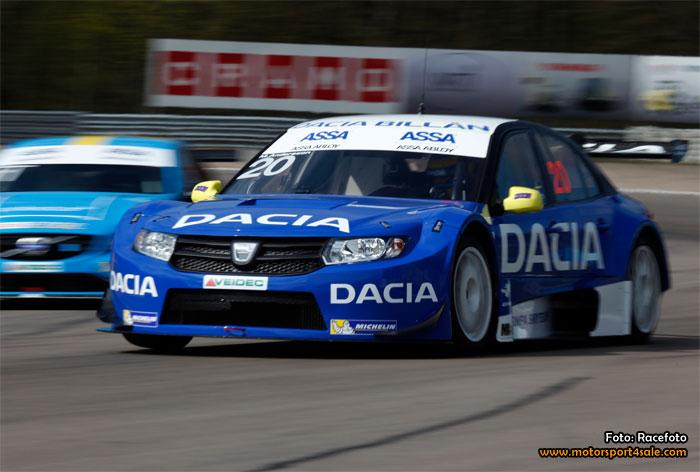 Mattias Andersson nöjd med STCC-test