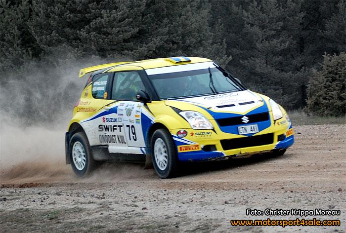 Johan Holmberg kommer till SSR med Suzukin
