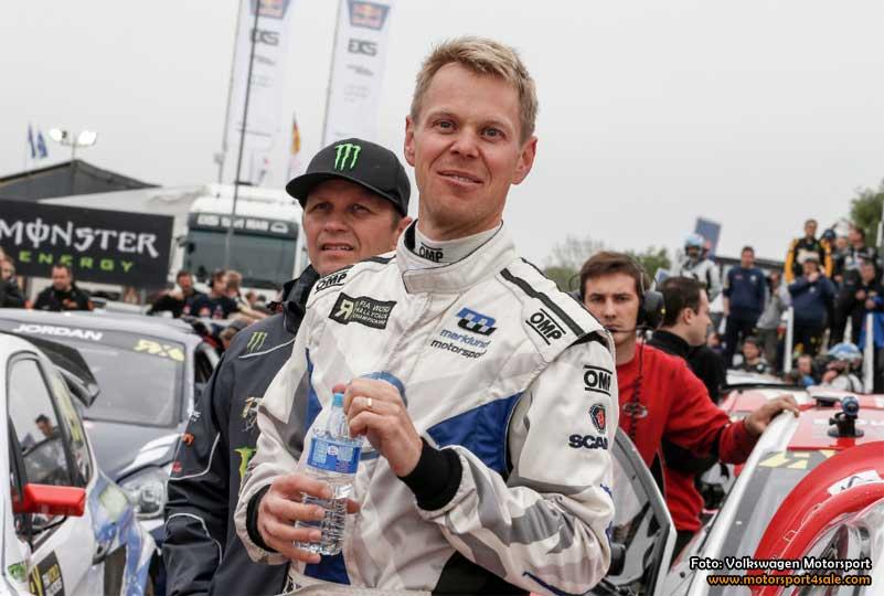 Volkswagens rallycrosstjärnor firar midsommar i Tyskland