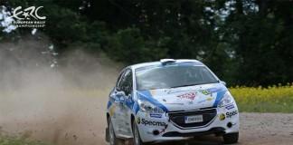 Dramatiskt Rally Estonia för Mattias Adielsson