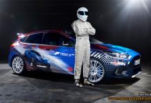 The Stig avtäcker specialdesignad Ford Focus RS