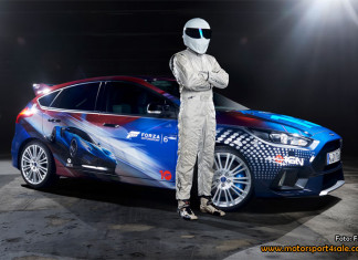 The Stig avtäcker specialdesignad Ford Focus RS