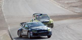 Ramona Karlsson om RallyX-starten på Solvalla