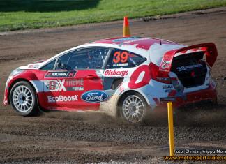 Kevin Eriksson Supercar-mästare i RallyX