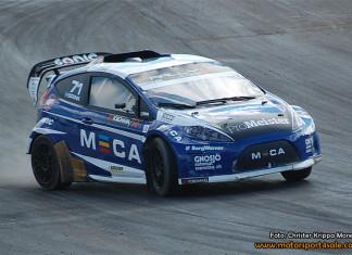 Tobias Brink mästare i Supercar Lites på hemmaplan