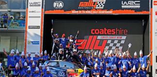WRC-titlarna säkrade efter dubbelseger i Australien