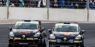 Skoog vs Wernersson i Renault Clio Cup