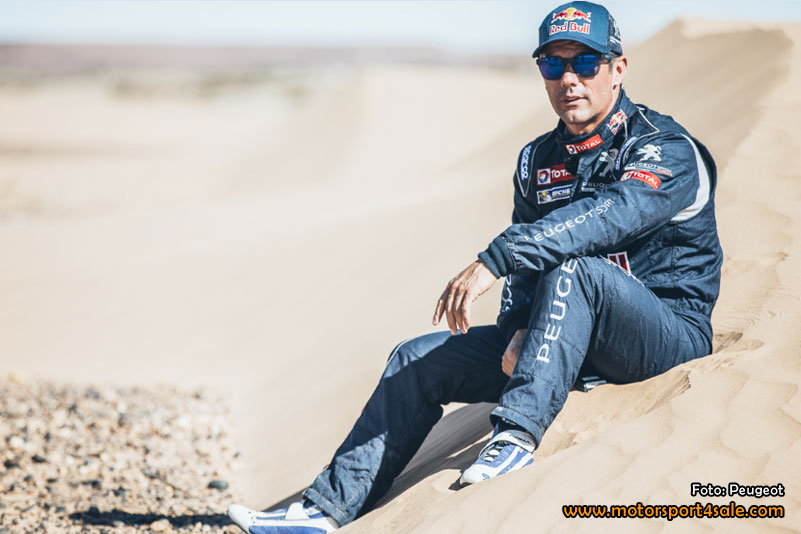 Loeb goes Dakar