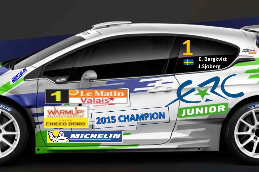Emil Bergkvists nya R5-Peugeot