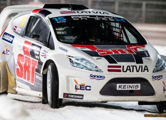 RallyX On Ice 2016 från Piteå till Åre