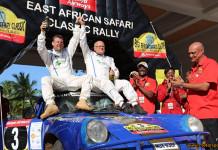 Stig Blomqvist segrare av East African Safari Classic Rally