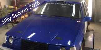 Tim Joons gillar sin GrF-Volvo
