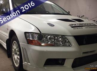 Jakobsson gör rally-debut i en Mitsubishi