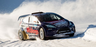 RallyX On Ice-premiären