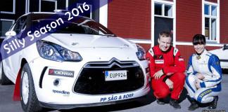 Sofie Lundmark bilder vinnarduo i en R3 Citroën