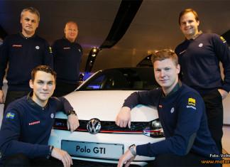 Två team blir ett när Volkswagen RX Sweden kör för guld