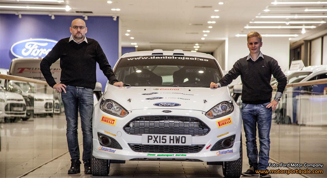 Daniel Röjsel kör Rally-SM i Fiesta R2 1,0 Ecoboost