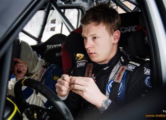 Johan Kristoffersson till start i Rally Sweden