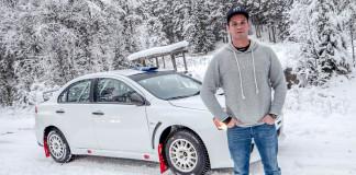 Hedström på startlinjen i Finnskogsvalsen