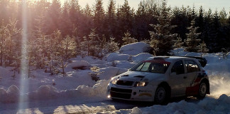 PG Andersson tillbaka i rallyskogen