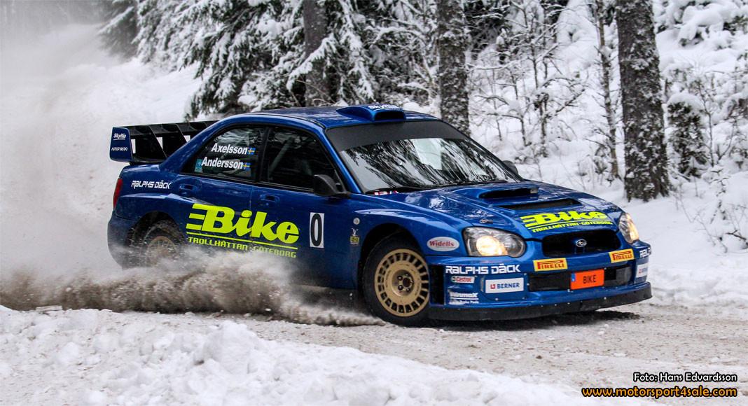 Jerker ska köra Subarun fortare än någonsin