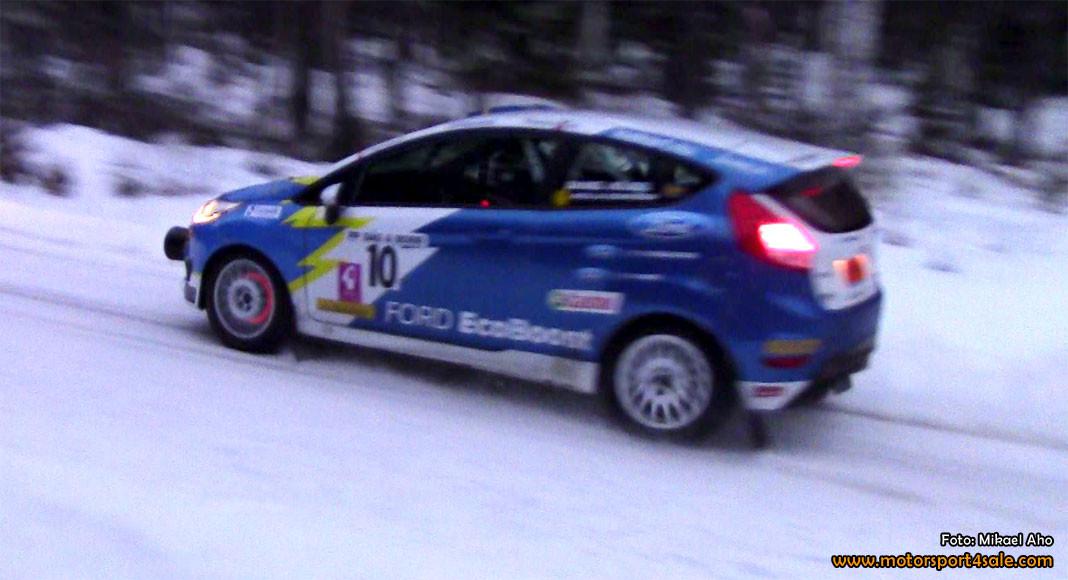 Daniel Röjsel styrde Ecoboost till en andraplats i Rally Bilmetro