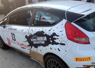 Jacob Jansson om tredjeplatsen i Rally Bilmetro