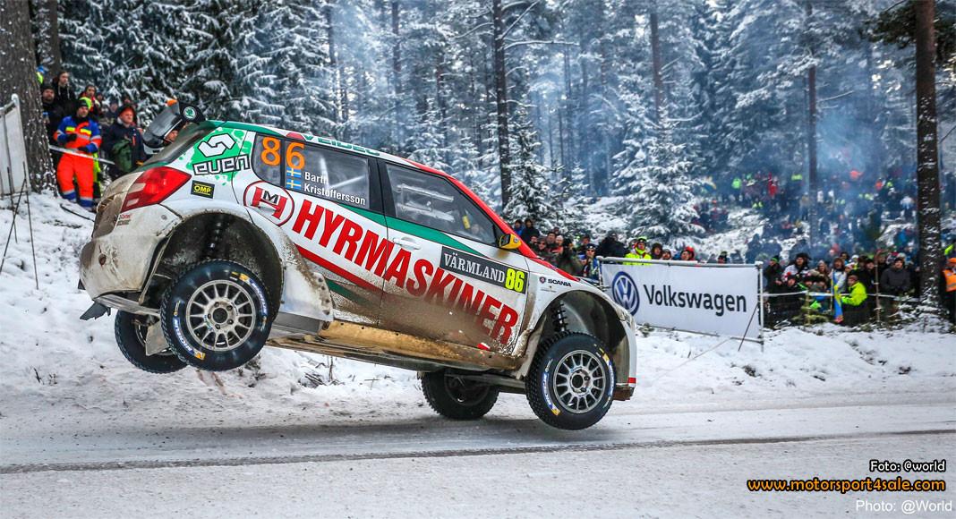 Johan Kristoffersson hoppas på köra fler rallyn